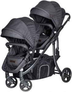 X-Adventure Tweeling kinderwagen Xline Domino​