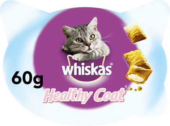 Whiskas Temptations Healthy Coat​