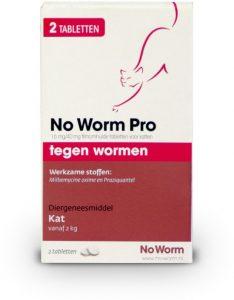 Exil No Worm Pro - Kat - 2 Tabletten