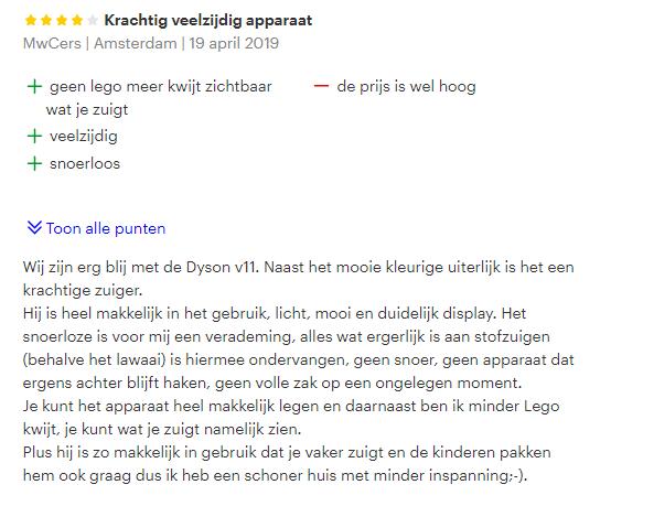 dyson review 2