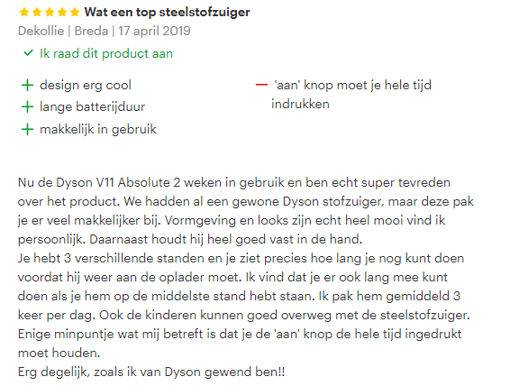 dyson review 3